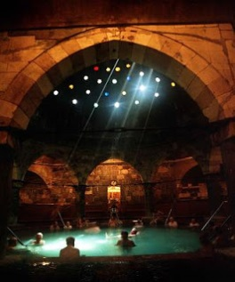 Dome room, Rudas Baths, Budapest
